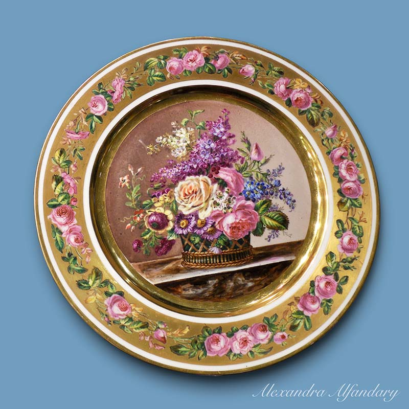 Please click on the images for an enlarged view. For enquiries please email alex@alfandaryantiques.co.uk  sc 1 st  Antique Meissen Porcelain u0026 Antiques & Item No. 9711: A Set of Highly Decorative French Plates ca. 1870