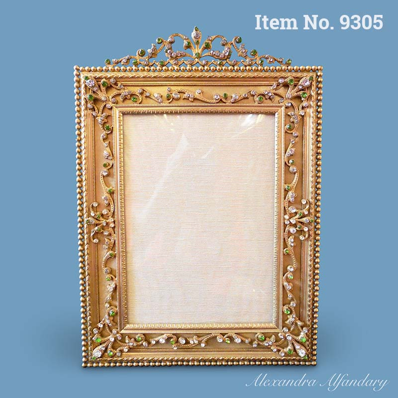 A Gilt Metal French Frame from the Belle Epoque, ca. 1900